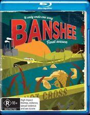 Banshee : Season 4 (Blu-ray, 3-Disc Set) NEW