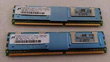 HP 16GB ( 2 x 8GB ) RAM DDR2 PC2-5300F DDR2-667MHZ 398709-071