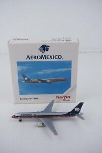 1:500 HERPA Wings AEROMEXICO BOEING 757-200 MODEL AIRPLANE 503730