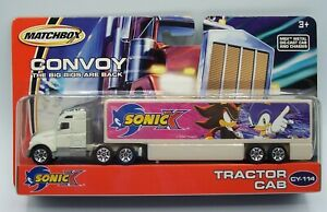 """""""MATCHBOX"""" CONVOY **SONIC X** TRACTOR CAB MINT ON CARD"""