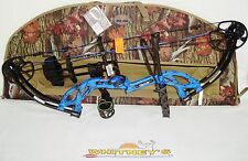 Fred Bear Cruzer G2 Spark Bow Blue Right Hand Package  5-70#  12-30""