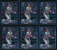 2018 Topps Chrome Update Set Gleyber Torres 6 Card RC Lot #HMT80 Rookie Yankees
