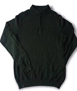 Tom Ford Knitwear Dark Green Long Sleeved Wool Size Small Mens