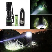 Zoomable 5000LM T6 LED Flashlight Torch+Original Panasonic 3400mAh 18650 Battery
