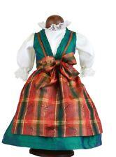 Abito bambole per 41 CM BAMBOLE ROSE Dirndl Con Grembiule di seta Schildkröt 41773....