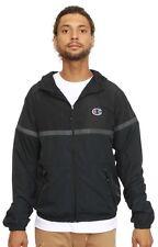 New Champion Commuter Full Zip Windbreaker Jacket Coat Black Size XL Msrp $100