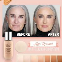 Long Lasting Matte Liquid Waterproof Concealer Moisturizing Foundation Cream