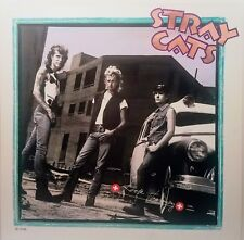 STRAY CATS 'ROCK THERAPY Album Flat Poster Suitable For Framing MINT!  from 1986