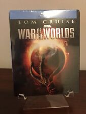 War of the Worlds Steelbook (Blu-ray, 2005, Exclusive RARE) Factory Sealed