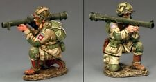 KING & COUNTRY D DAY DD251 U.S 82ND AIRBORNE KNEELING FIRING BAZOOKA MIB