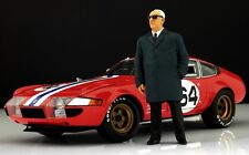 Enzo Ferrari (2) Figure for 1:18 HotWheels 250 125 F2 BBR VERY RARE!