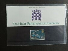 GB Stamps 1975 Presentation Pack 62nd Inter Parliamentary Conference