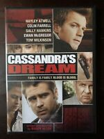 Cassandra's Dream - 2007 (Sealed DVD, 2008) - Woody Allen
