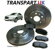 * VAUXHALL INSIGNIA 2.0 CDTI 1.8 PETROL FRONT BRAKE DISCS AND PADS SET 296mm 08-