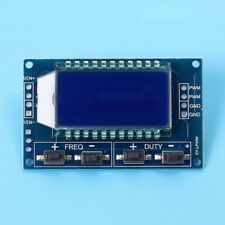 1Hz-150Khz Signal Generator PWM Pulse Frequency Duty Cycle Adjustable Module LCD