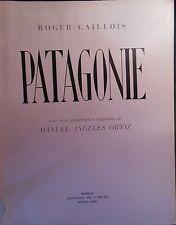 Roger CAILLOIS, Patagonie, trois lithographies de Manuel-Angeles ORTIZ  (1942).