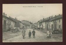 France Lorraine SAULX-EN-BARROIS Grande Rue Children c1900s? PPC