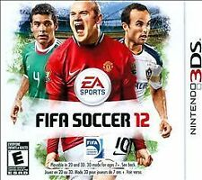 FIFA Soccer 12 (Nintendo 3DS, 2011) NEW FAST FREE SHIP USA ONLY