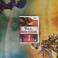 Tenchu Shadow Assassins • Nintendo Wii