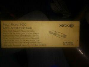 Xerox 106R02225 Xerox Phaser 6600/WorkCentre 6605, High Capacity Cyan Toner