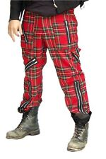 Punk FB Tartan Zip Pants Tiger of London
