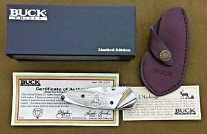 Buck Custom, Limited Edition, Alpha Dorado knife. Made in USA! Elk!