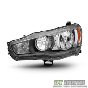 2008-2017 Mitsubishi Lancer EVO X Headlight Headlamp Replacement LH Driver Side