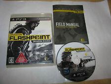 Operation Flashpoint Dragon Rising Playstation 3 PS3 Japan import US Seller