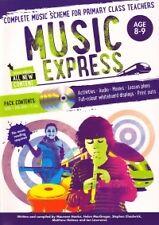 MUSIC EXPRESS Age 8-9 Book 4 + DVD-Rom & 3 CDs