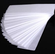 Hot 100 PCS White Hair Removal Depilatory Non-woven Epilator Wax Strips Paper