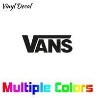 Vans Sticker | Car Window Vinyl Die Cut Decal *Multiple options*