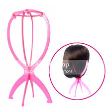 New Wig Stand Hair Hat Cap Holder Folding Durable Mannequin Stable Display Tool