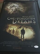 WERNOR HERZOG SIGNED CAVE OF FORGOTTEN DREAMS 12X18 MOVIE POSTER JSA PROOF