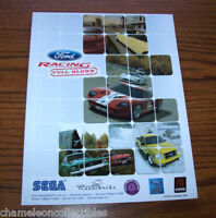 FORD RACING FULL BLOWN By SEGA 2006 ORIGINAL NOS VIDEO ARCADE GAME SALES FLYER