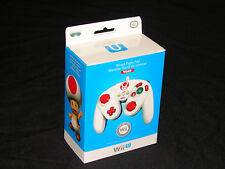 TOAD - Nintendo Wii U / Wii  Wired Fight Pad Controller  ***BRAND NEW***