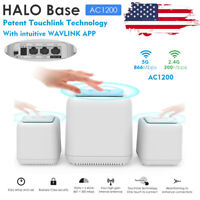 Wavlink 1200Mbps Dual Band WLAN Router Whole Home Smart System Wifi Mesh 3 Pack