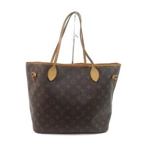 Louis Vuitton LV Tote Bag Neverfull MM M40156 Browns Monogram 1535239