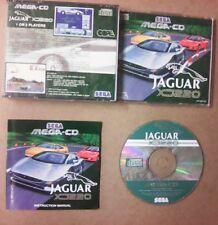 Jeu Sega Mega Cd XJ Jaguar 220 complet tbe