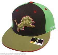 Detroit Lions NFL Reebok Multi Color KOLORS Flat Visor Hat Cap Flex Fitted 7 3/8