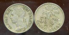 CONGO   BELGE   50 centimes 1925  (  belges )
