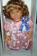 "Lissi Doll ANA By Christina Batz 1993 West  Germany 20"" Vinyl Cloth COA NIB 3 +"