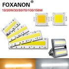 Smart IC Light Lamps Warm Cool//White 30/50/70/100/150W Led COB Chip 220/110V