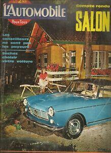 L'AUTOMOBILE 187 1961 JAGUAR MKX 1000KM PARIS GP USA CHRYSLER TURBOFLITE DRAGS