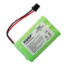 Hqrp Batterie Téléphone sans Fil pour Uniden DCT6485,DCT6485 2,DCT6485 3,TRU9485