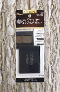 L'oreal Brow Stylist Prep & Shape Pro Kit - 387 Medium to Dark