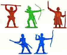 5 Dulcop Robin Hood Characters and Merry Men - 60mm plastic toy soldiers