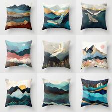 2 X Sofa Pillow Cases pillow Cover Linen Cushion cover Car Home Decor 45CM 45CM