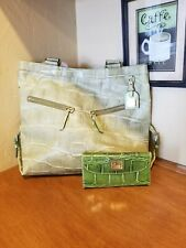 Dooney And Bourke Leather Purse W/ Matching Wallet