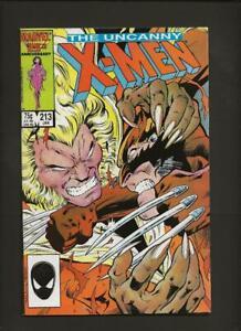 X-Men 213 VF 8.0 High Definition Scans