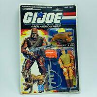 Gi Joe Cobra action figure toy vintage moc Hasbro 1988 Spearhead Max bobcat RARE